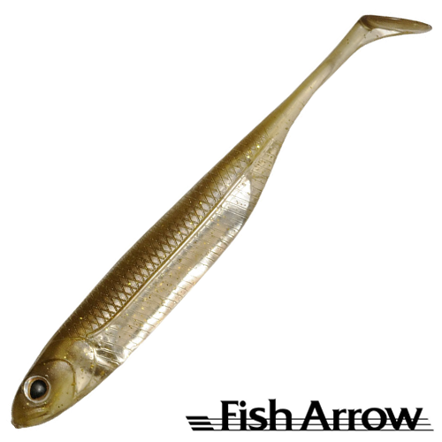 Fish Arrow Flash J Shad 4'' #06 Kosan Ayu/Silver (6 шт в уп)