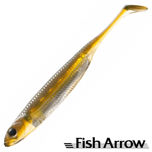 Fish Arrow Flash J Shad 4'' #22 Live Ayu/Silver (6 шт в уп)