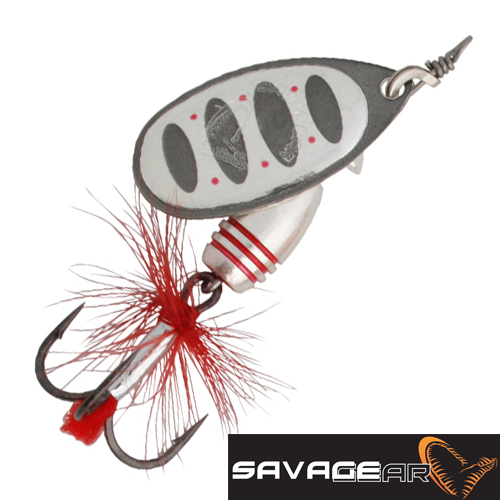 Rotex Spinner 1 3,5gr Блесна вертушка Savage Gear Rotex Spinner 1 3,5gr #01