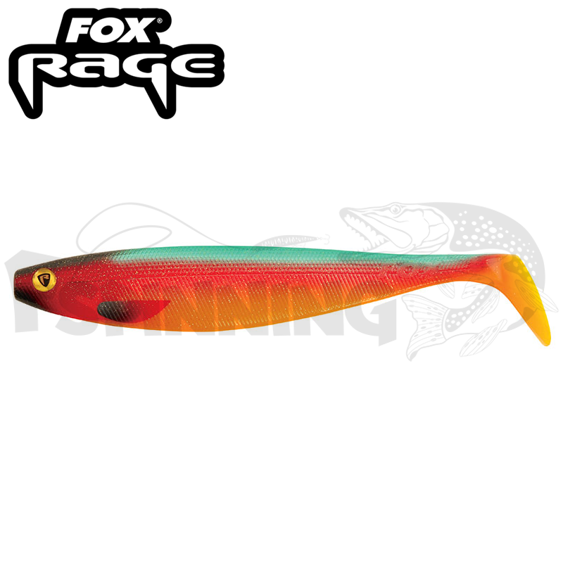 Rage Pro Shad Natural Classic II 9''/230mm Мягкие приманки Fox Rage Pro Shad Natural Classics II 9''/230mm #Parrot (1шт в уп)