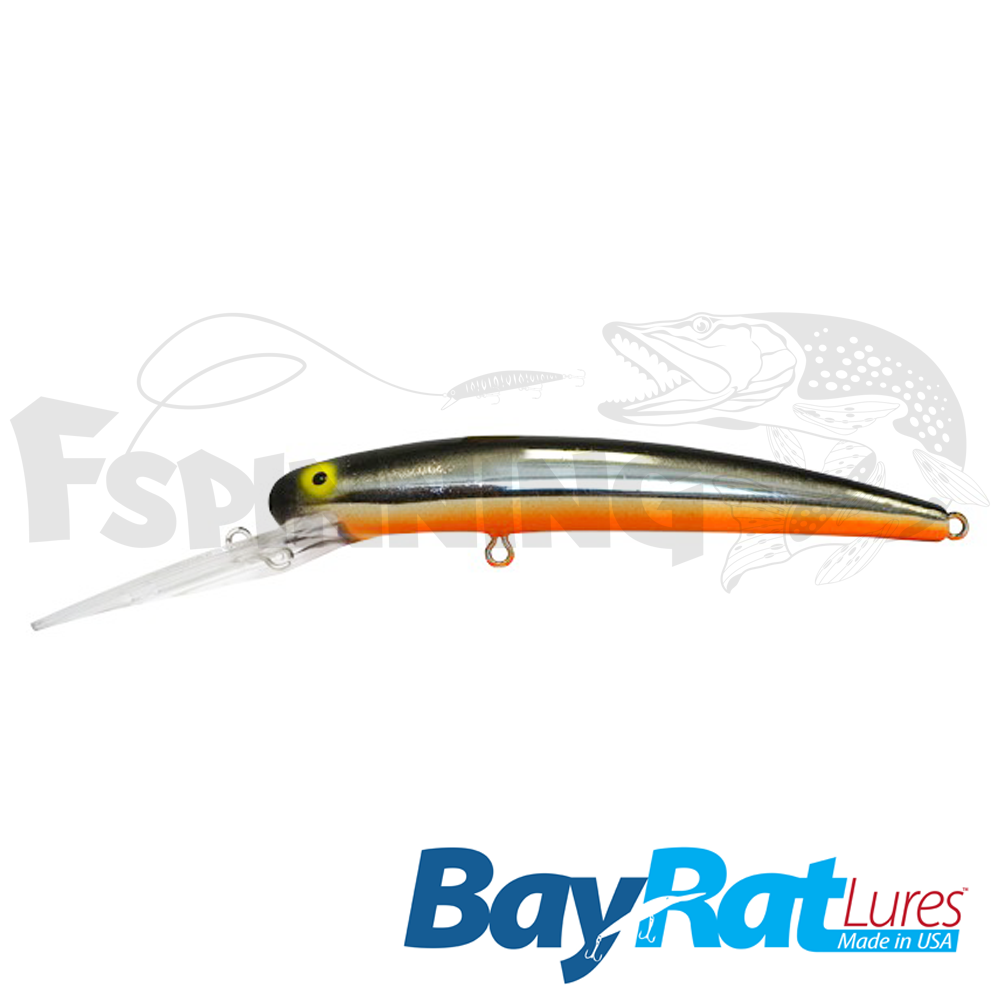 Long Extra Deep 100F Воблер Bay Rat Lures Long Extra Deep 100F 15.8gr #33 midnight glare