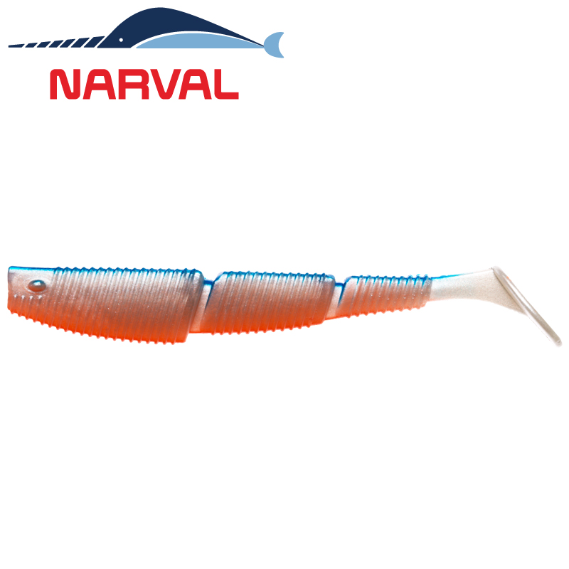 Complex Shad 120mm Мягкие приманки Narval Complex Shad 12sm #001 Blue Back Shiner (4 шт в уп)