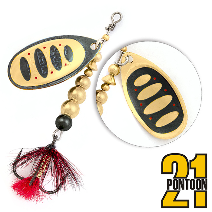 Блесна Pontoon21 Ball Concept 4 11,4gr #B04-001