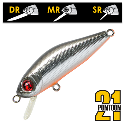 Воблер Pontoon21 Crackjack 48SP-DR 3,7gr #051