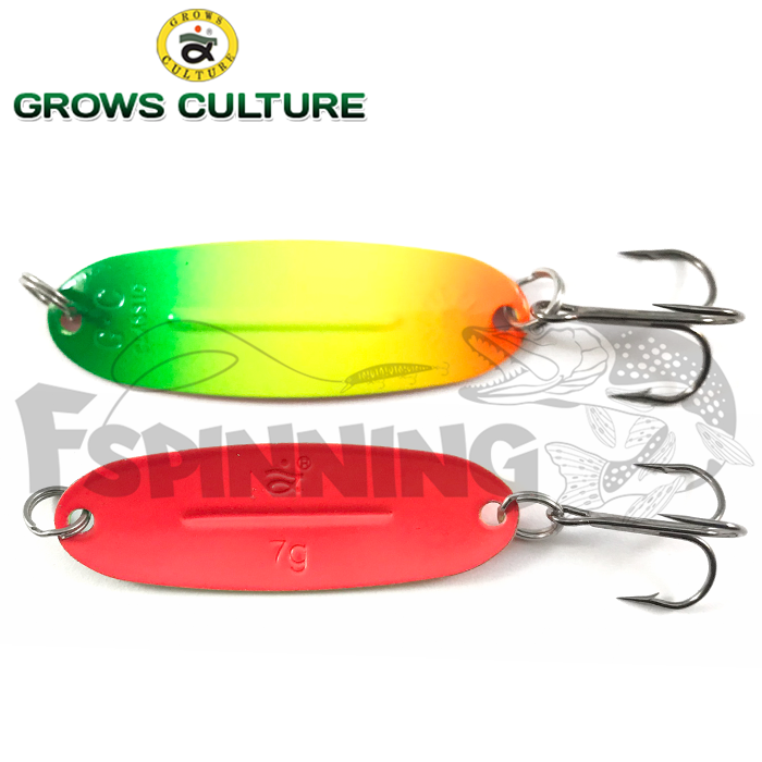 Блесна колебалка Grows Culture Jig Killer 7gr/57mm #019A