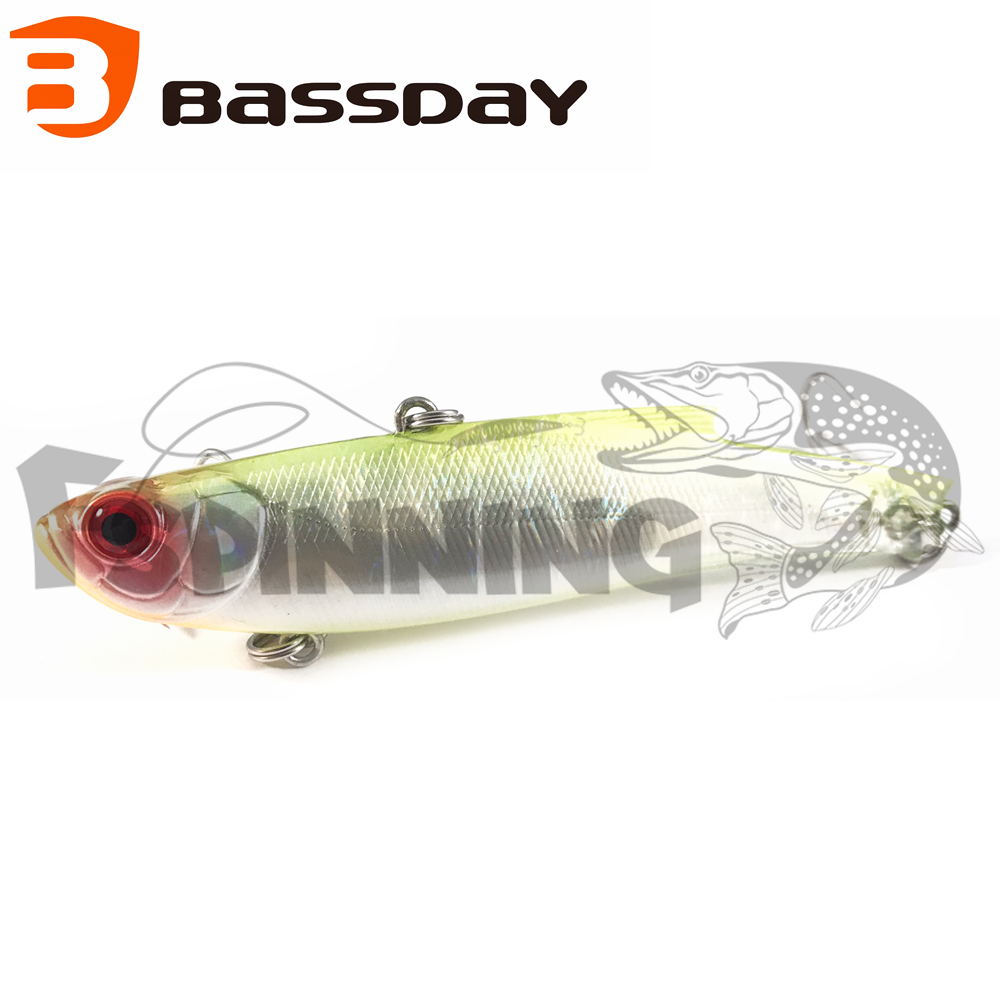 Range Vib 80ES Воблер Bassday Range Vib 80ES 23gr #CT-104
