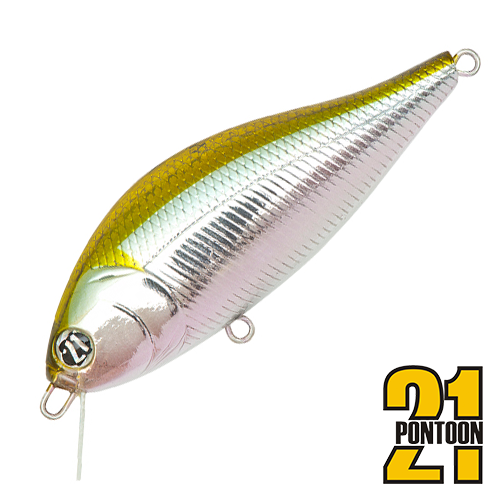 Воблер Pontoon21 Bet-A-Shad 75SP-SR 13,2gr #012