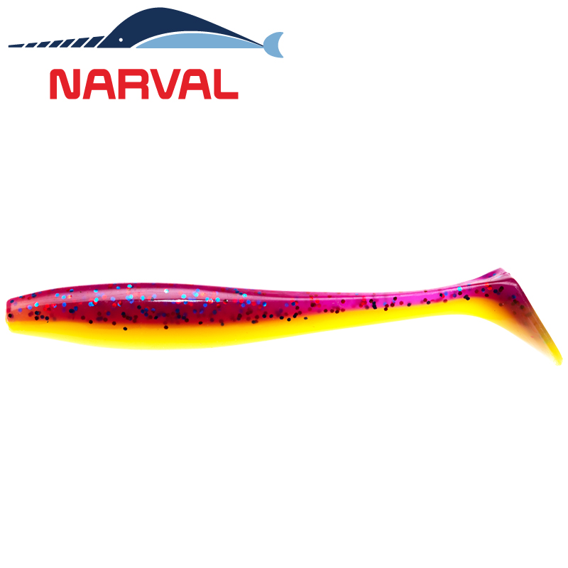 Choppy Tail 80mm Мягкие приманки Narval Choppy Tail 8sm #007 Purple Spring (6 шт в уп)