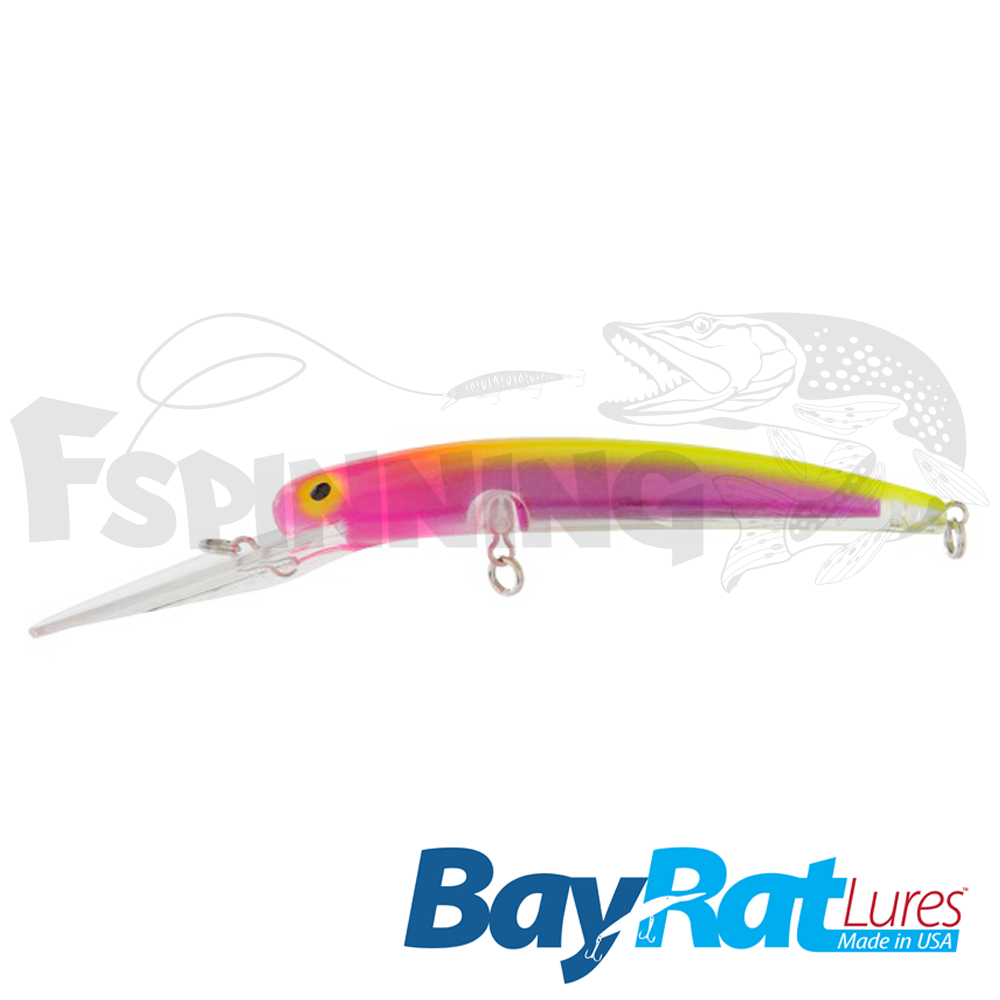 Long Extra Deep 100F Воблер Bay Rat Lures Long Extra Deep 100F 15.8gr #42 raspberry lemonade