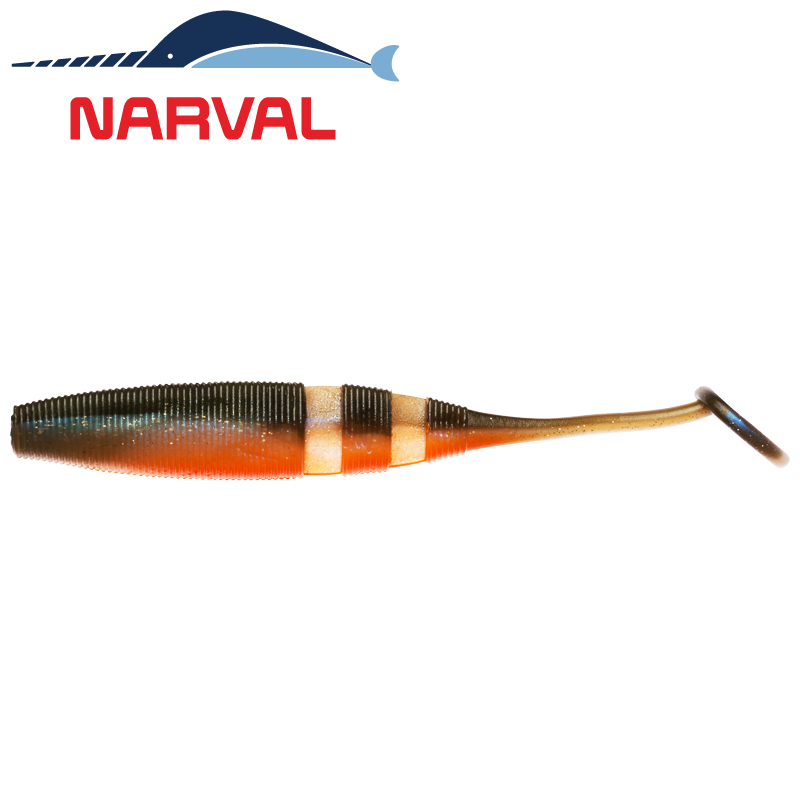 Loopy Shad 120mm Мягкие приманки Narval Loopy Shad 12sm #008 Smoky Fish (4 шт в уп)