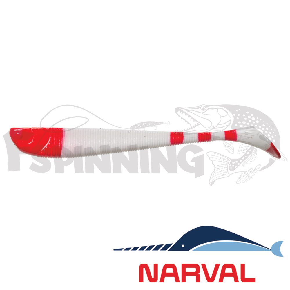 Slim Minnow 90mm Мягкие приманки Narval Slim Minnow 90mm #014 Santa Claus (6шт в уп)