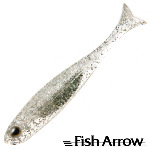 Fish Arrow Flash J Huddle 1'' SW #111 Clear Holo/Silver (5 шт в уп)