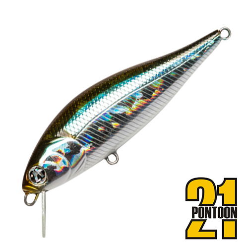 Bet-A-Shiner 68F-SR Воблер Pontoon 21 Bet-A-Shiner 68F-SR 6,6gr #005