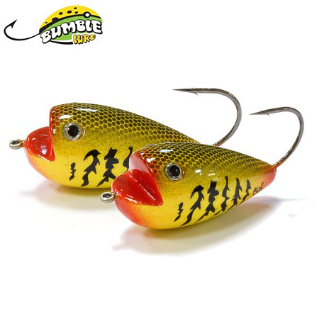 Глиссер Bumble Lure Frog F-9Y Yellow 9гр