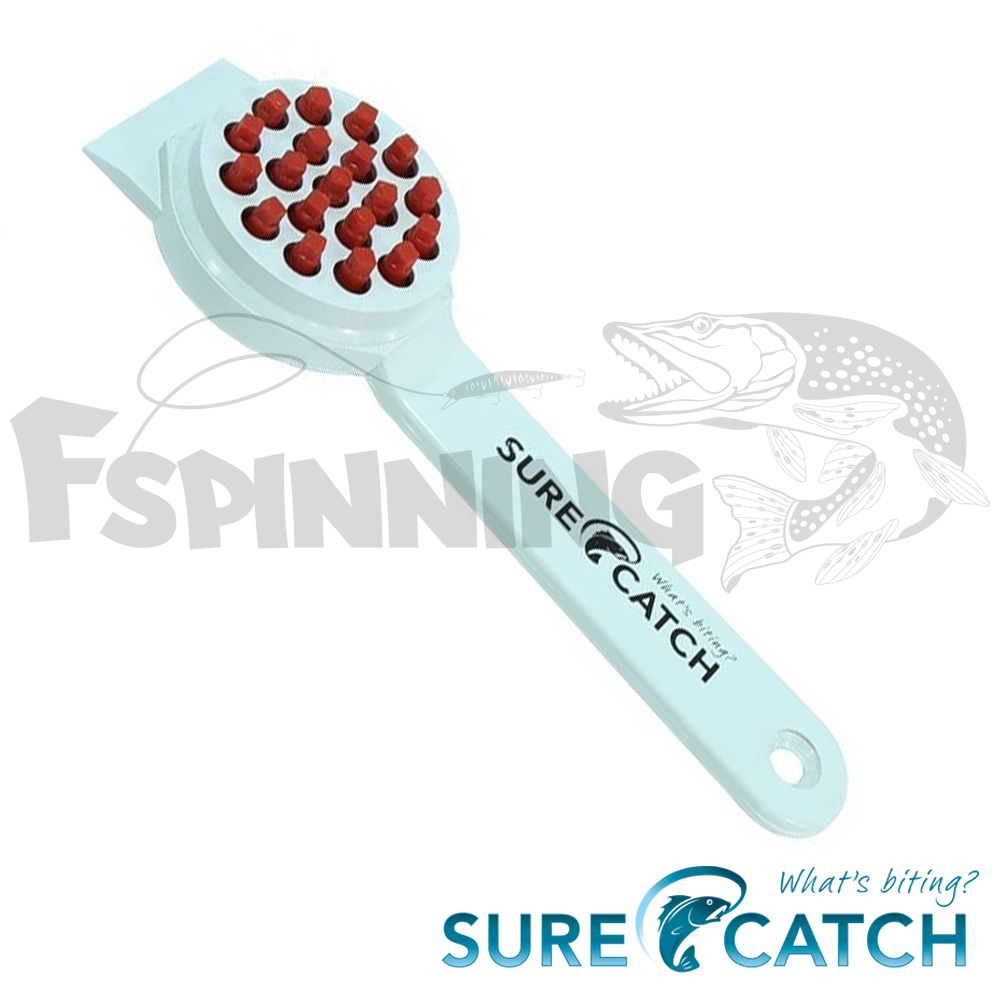 Рыбочистки Рыбочистка Sure Catch Fish Scaler пластиковая