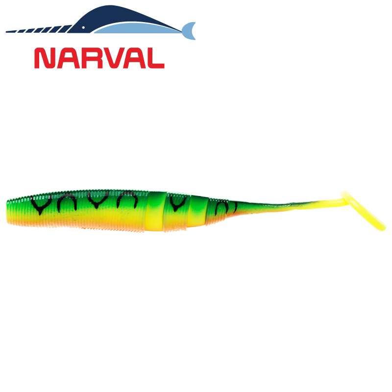 Loopy Shad 120mm Мягкие приманки Narval Loopy Shad 12sm #006 Mat Tiger (4 шт в уп)