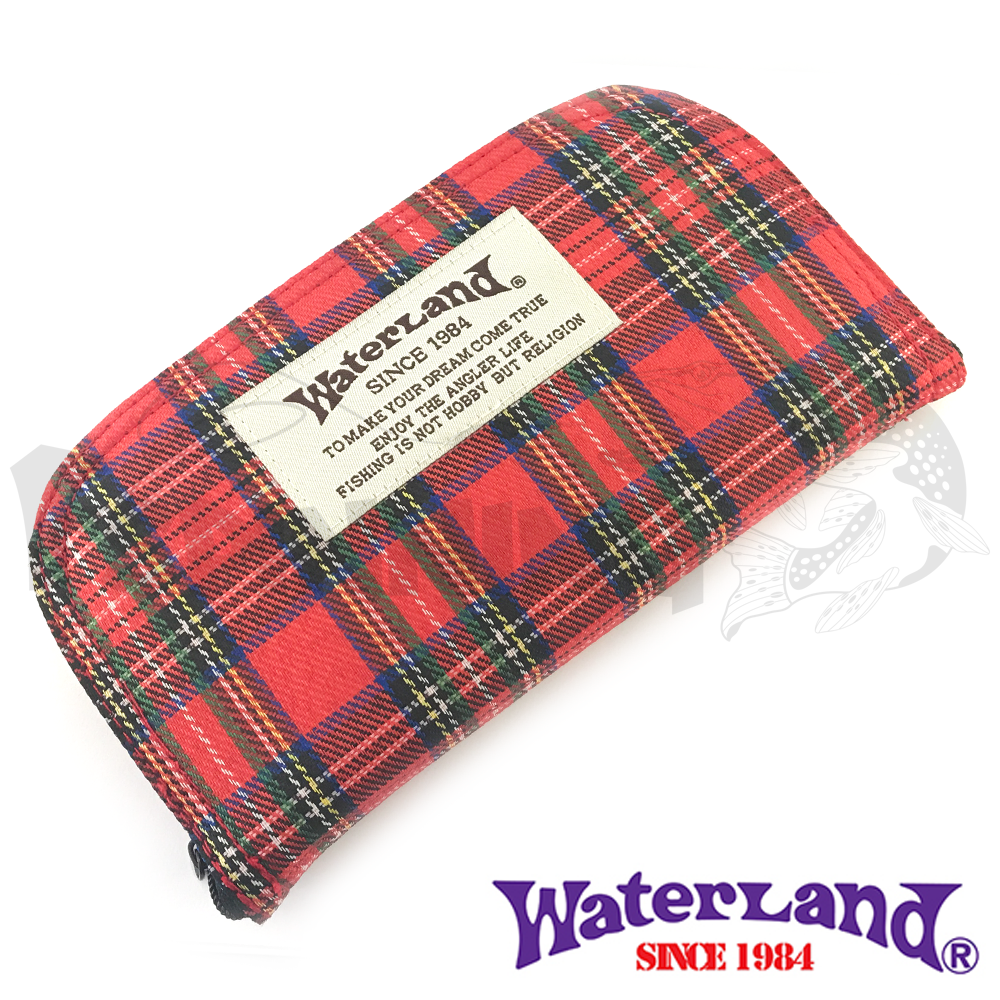 Waterland Кошелек для блесен Waterland Spoon Wallet #L Red Plaid