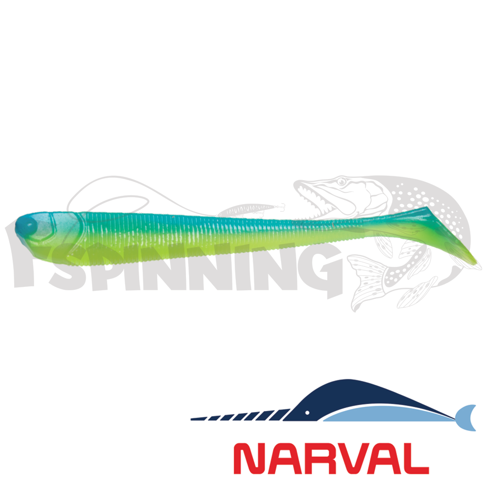 Slim Minnow 110mm Мягкие приманки Narval Slim Minnow 11sm #016 Blue Mint (5 шт в уп)