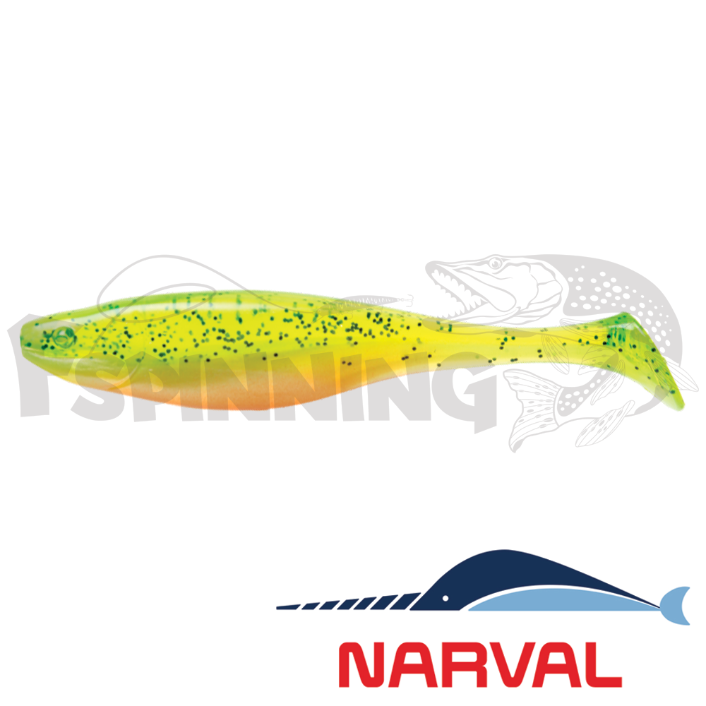 Commander Shad 140mm Мягкие приманки Narval Commander Shad 14sm #015 Pepper/Lemon (3 шт в уп)