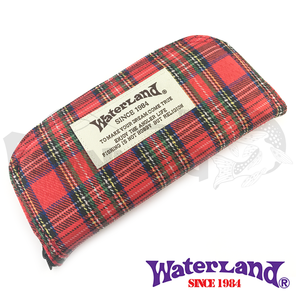 Waterland Кошелек для блесен Waterland Spoon Wallet #M Red Plaid