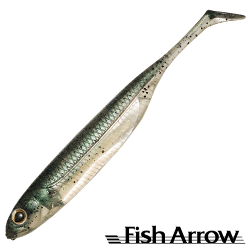 Fish Arrow Flash J Shad 2'' #03 Neon Green/Silver (8 шт в уп)