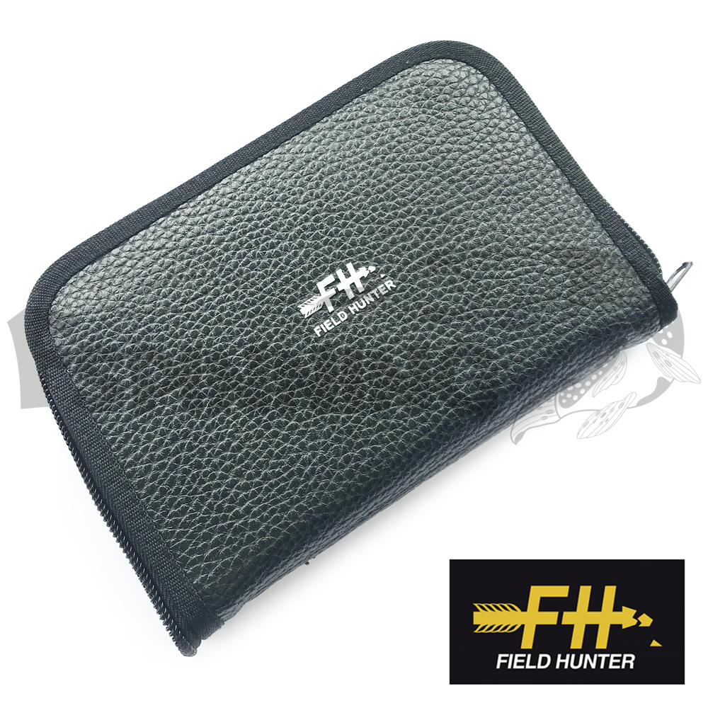 Field Hunter Кошелек для блесен Field Hunter Fake Feather Wallet #L black
