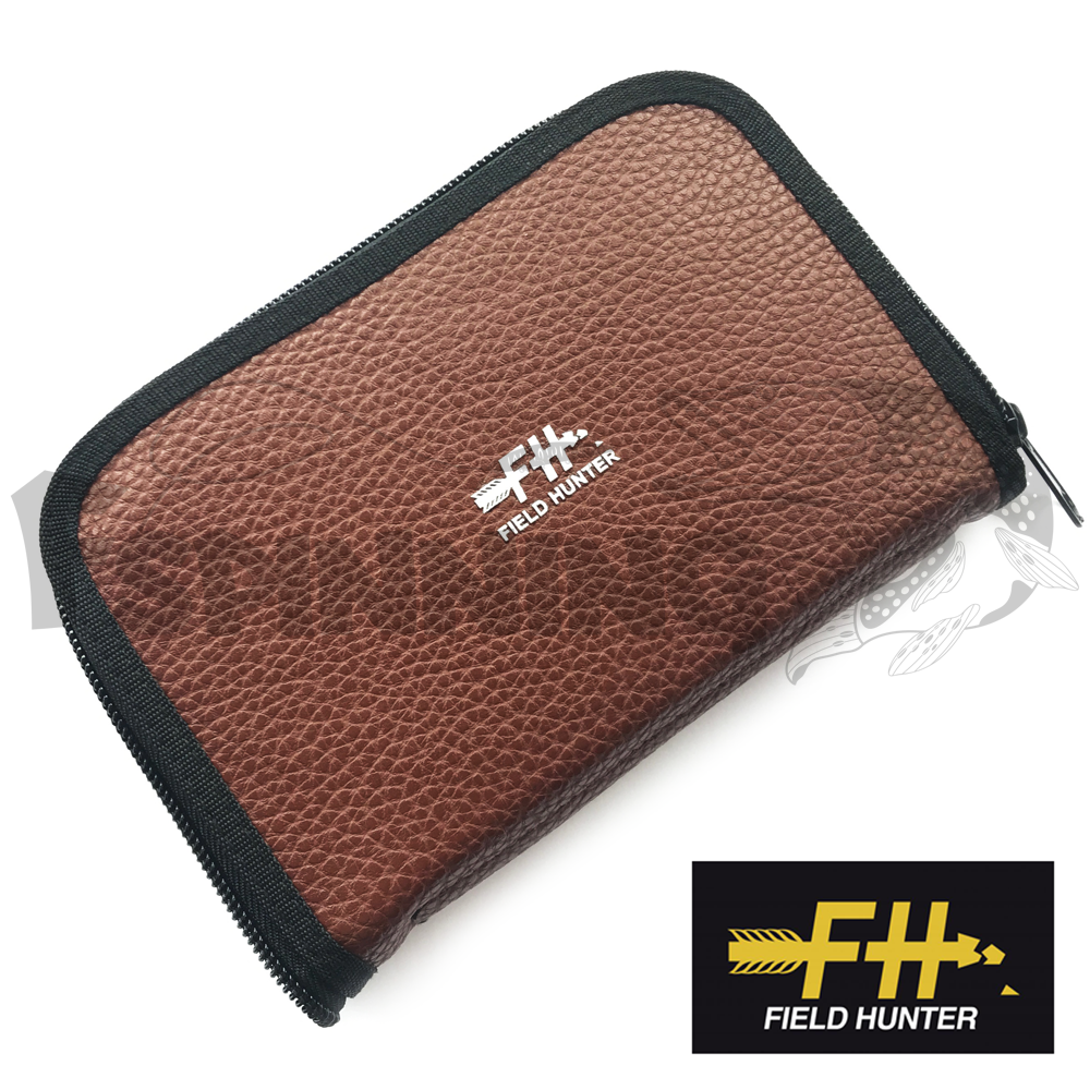 Field Hunter Кошелек для блесен Field Hunter Fake Feather Wallet #L brown