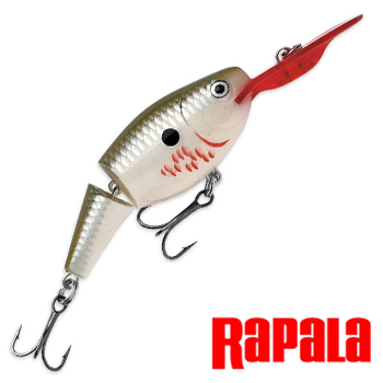 Jointed Shad Rap JSR05 Воблер RapaIa Jointed Shad Rap #JSR05-BP