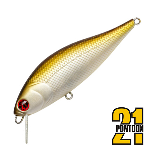 Bet-A-Shiner 82F-SR Воблер Pontoon 21 Bet-A-Shiner 82F-SR 11,7gr #317