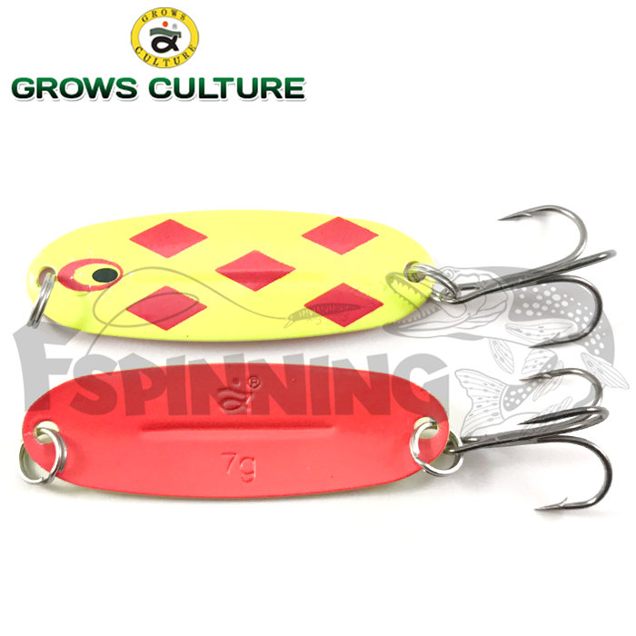 Блесна колебалка Grows Culture Jig Killer 7gr/57mm #002A