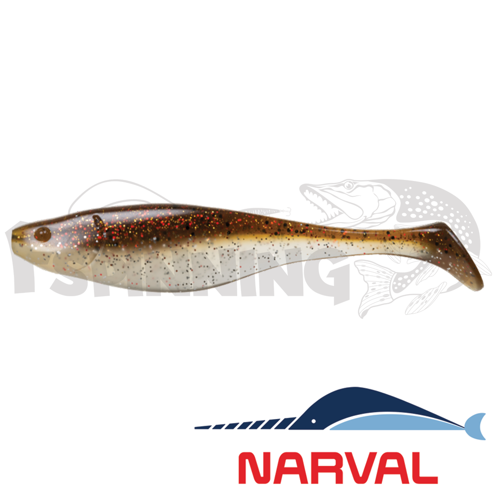 Commander Shad 140mm Мягкие приманки Narval Commander Shad 14sm #011 Brown Sugar (3 шт в уп)