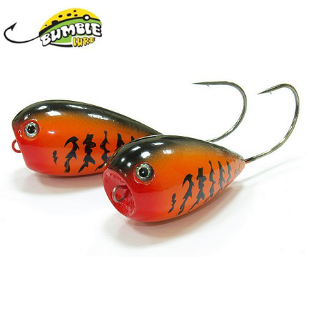 Глиссер Bumble Lure Popper  P-7xO Orange 7гр