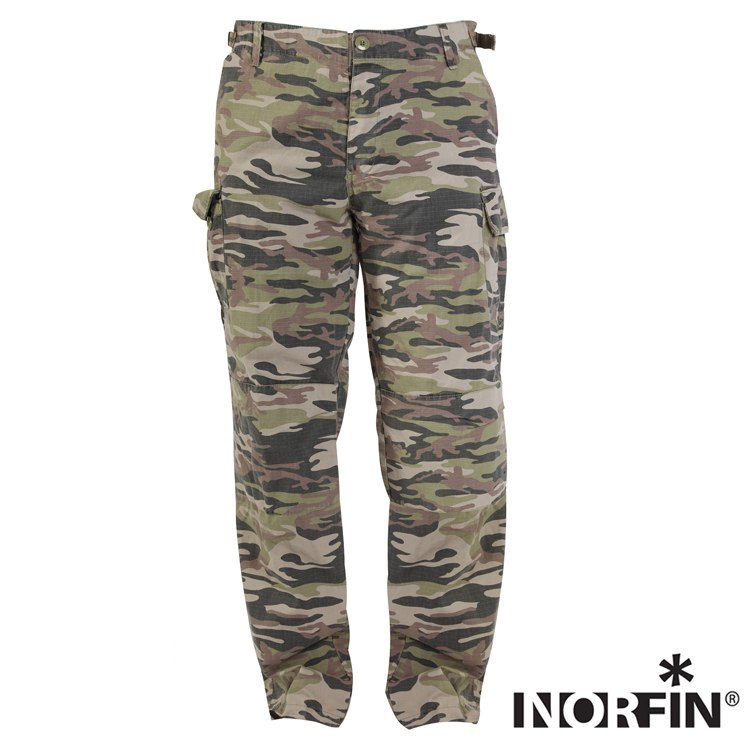 Nature Camo Штаны Norfin Nature Camo 01 р.S