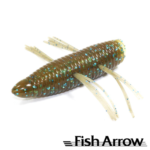 AirBag Bug 2'' Мягкие приманки Fish Arrow AirBag Bug 2'' #11 Gp Blue Flake (6 шт в уп)