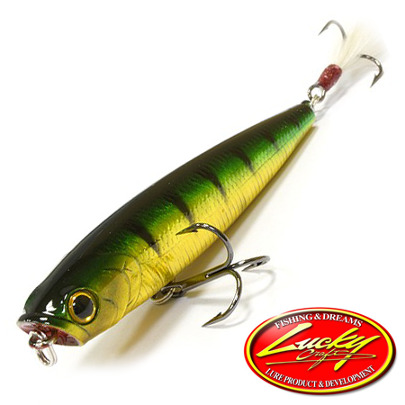Воблер Lucky Craft Gunfish 75 6,5gr #280 Auroragreen Perch