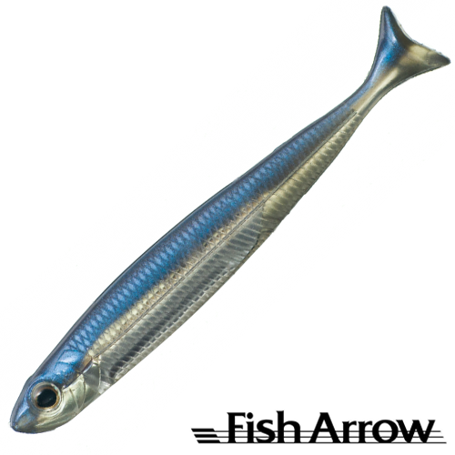 Fish Arrow Flash J Huddle 4'' #04 Problue/Silver (10 шт в уп)