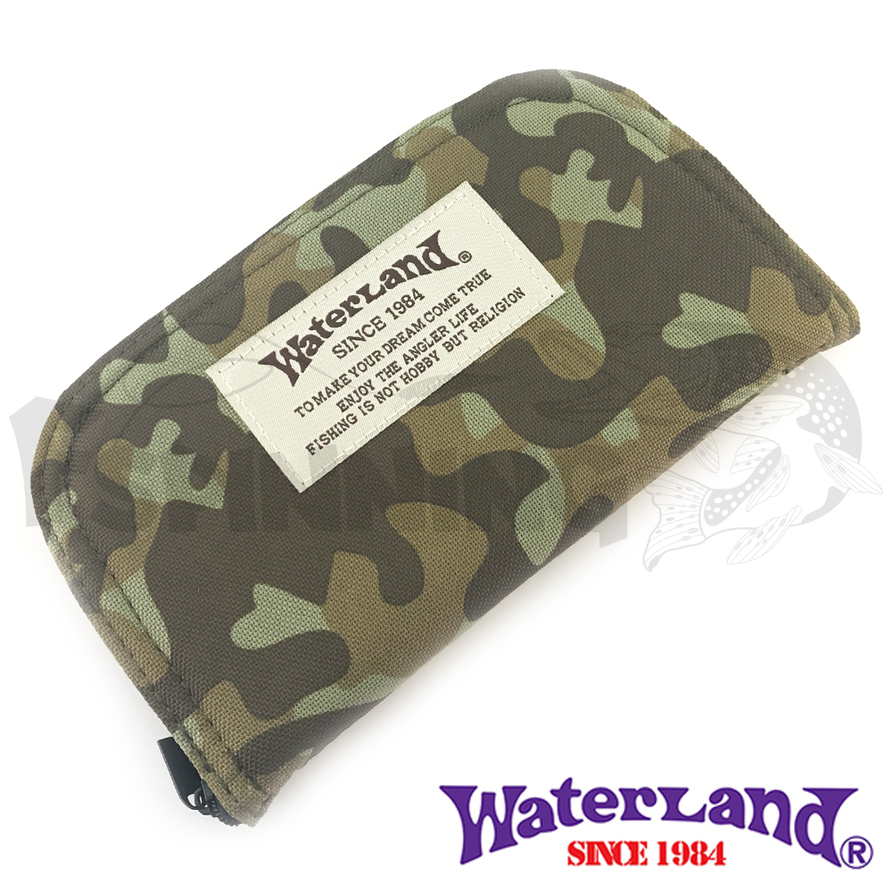 Waterland Кошелек для блесен Waterland Spoon Wallet #L Olive Camo