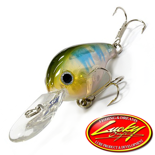 Воблер Lucky Craft Clutch DR 6,6gr #0002 Misty Shad 891