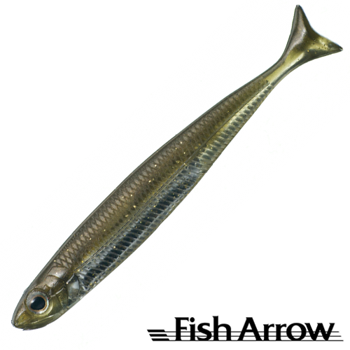 Мягкие приманки Fish Arrow Flash J Huddle 3'' #06 Kosan Ayu/Silver (7 шт в уп)