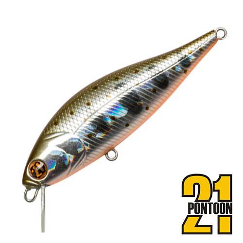 Bet-A-Shiner 68F-SR Воблер Pontoon 21 Bet-A-Shiner 68F-SR 6,6gr #050