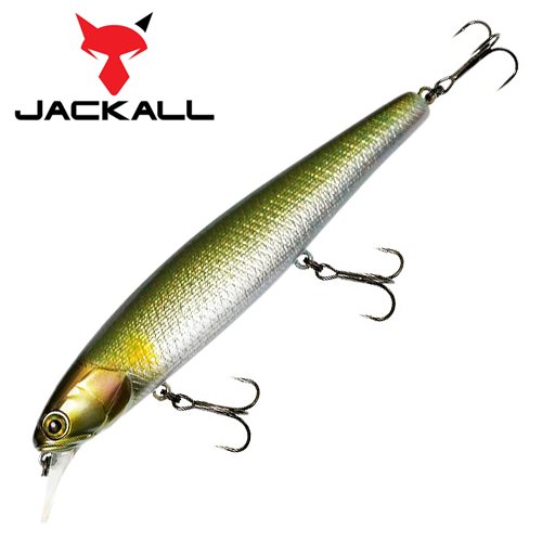 Воблер Jackall Smash Minnow 110SP 18,8gr #hl ayu