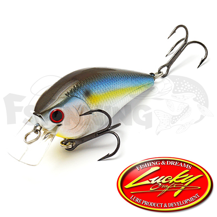 LC 1.5DRS Воблер Lucky Craft LC 1.5DRS 12gr #183 Pearl Threadfin Shad