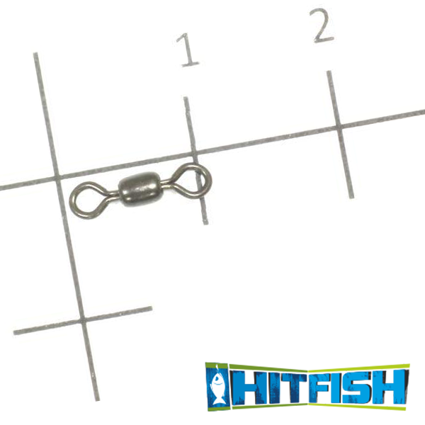 Вертлюг Hitfish Crane Swivel Stainless Steel #8 36,0kg (10 шт в уп)