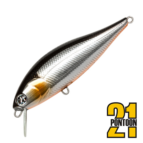 Bet-A-Shiner 68F-SR Воблер Pontoon 21 Bet-A-Shiner 68F-SR 6,6gr #712