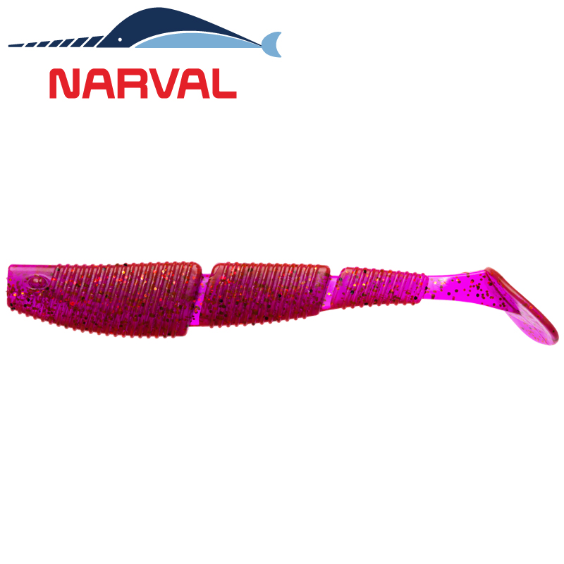 Complex Shad 120mm Мягкие приманки Narval Complex Shad 12sm #003 Grape Violet (4 шт в уп)