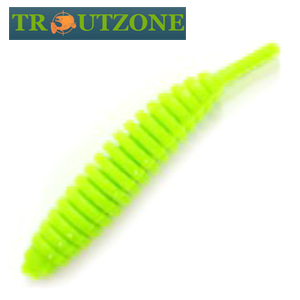 Ribber Pupa 1,8''/45mm Мягкие приманки Trout Zone Ribber Pupa 1,8''/45mm #green chartreuse Сыр (10шт в уп)