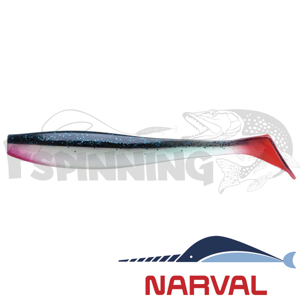 Choppy Tail 80mm Мягкие приманки Narval Choppy Tail 8sm #021 Grimy (6 шт в уп)