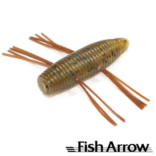 AirBag Bug 2'' Мягкие приманки Fish Arrow AirBag Bug 2'' #01 Greenpumpkin (6 шт в уп)