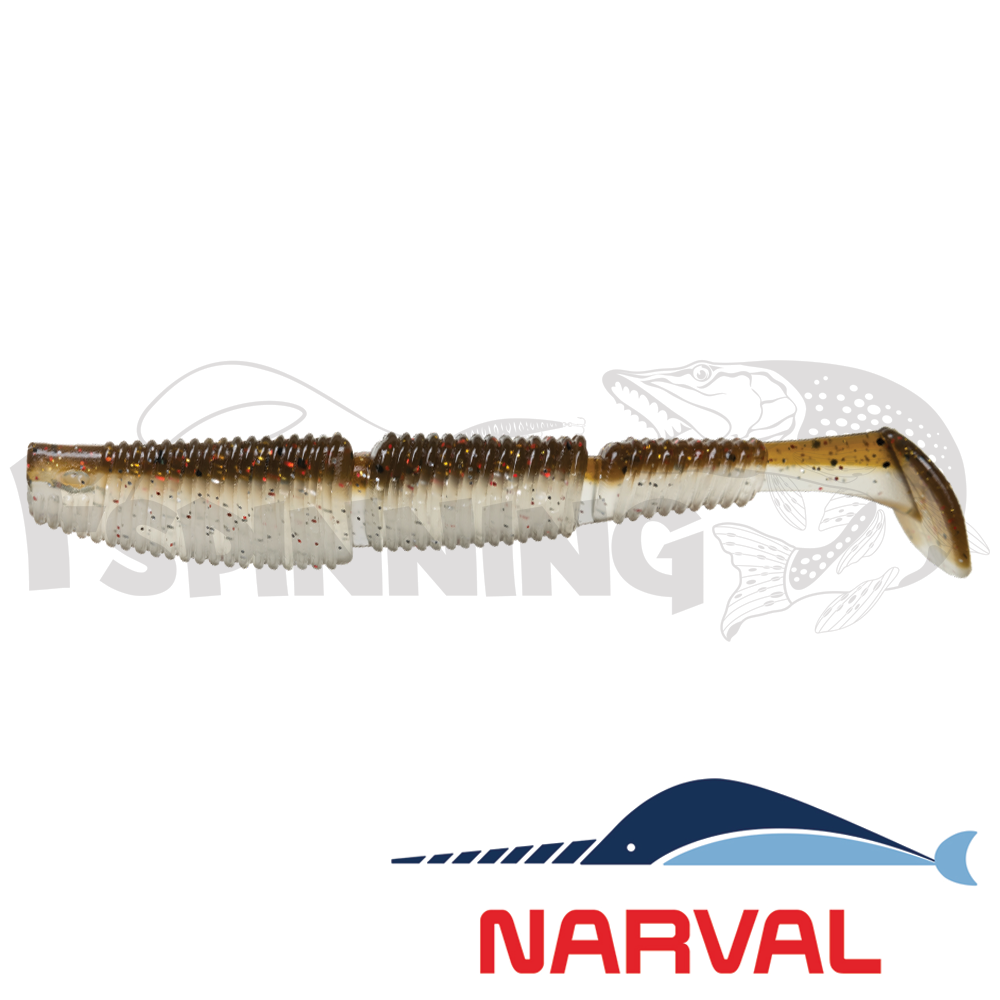 Complex Shad 120mm Мягкие приманки Narval Complex Shad 12sm #011 Brown Sugar (4 шт в уп)
