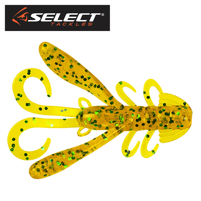 Rak Craw 2,8'' Мягкие приманки Select Rak Craw 2,8'' #006 (5 шт в уп)